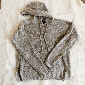 Hoodie Knit Sweater